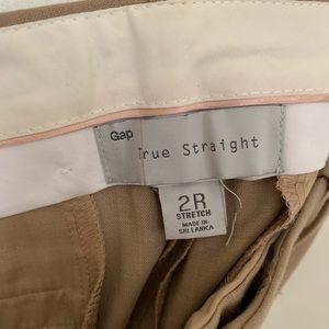 GAP Pants - NWT Gap True Straight Pants